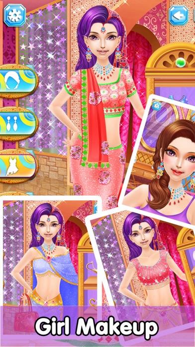 Princess Makeup Salon - Girl Makeover screenshot one