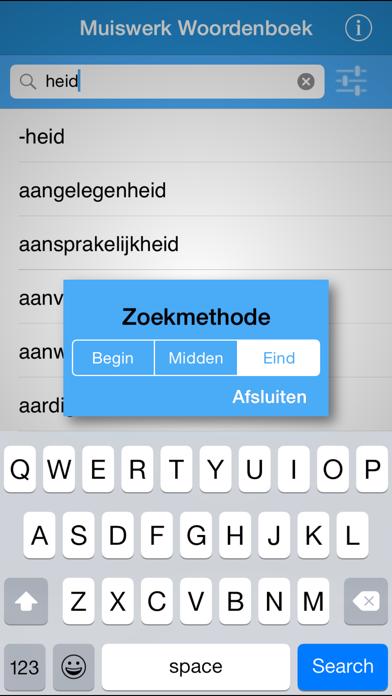 Woorden! screenshot one