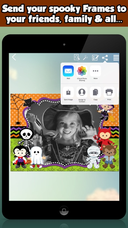 Free Halloween Photo Frames For Kids screenshot-4