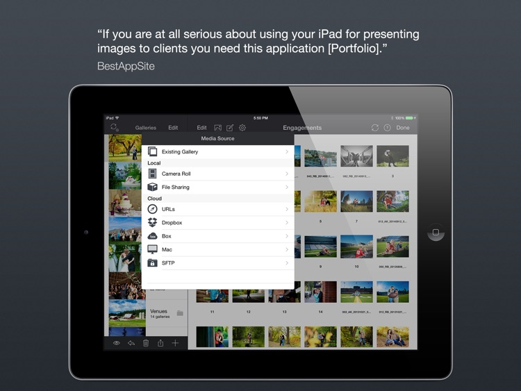 Portfolio for iPad screenshot-4