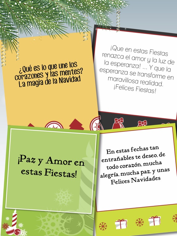 Christmas new year greeting messages in spanish app price drops screenshot 1 for christmas new year greeting messages in spanish m4hsunfo