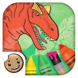 Painting Lulu Dinosaurs KFC