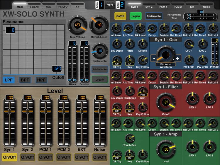 MIDI Designer XW screenshot-1