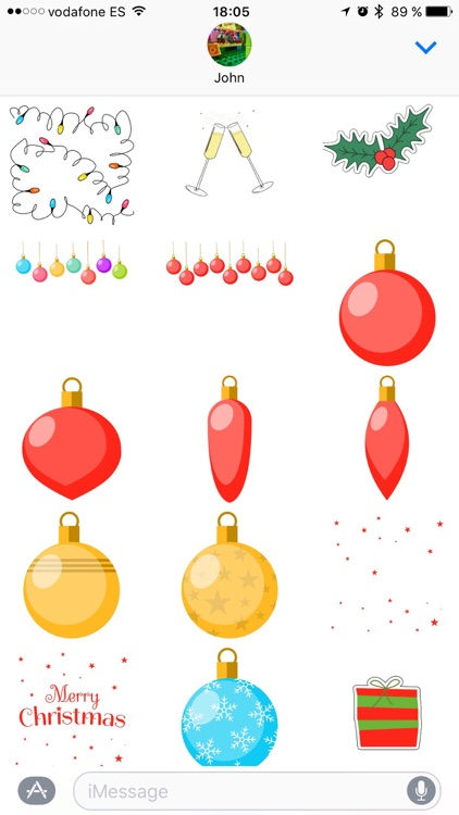 Merry Christmas! Sticker Pack screenshot-3