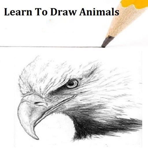 How to Draw Animals-Elephants,Tigers,Dogs,Fish icon