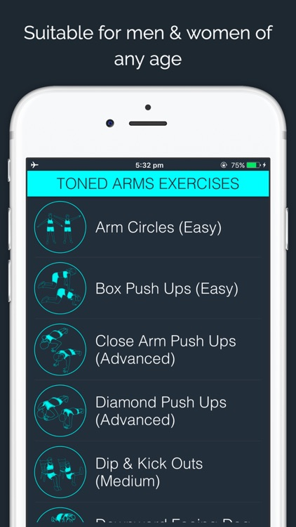30 Day Toned Arms Challenge screenshot-3