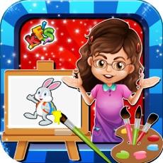 Activities of Kids Teacher Classroom Story - School Games