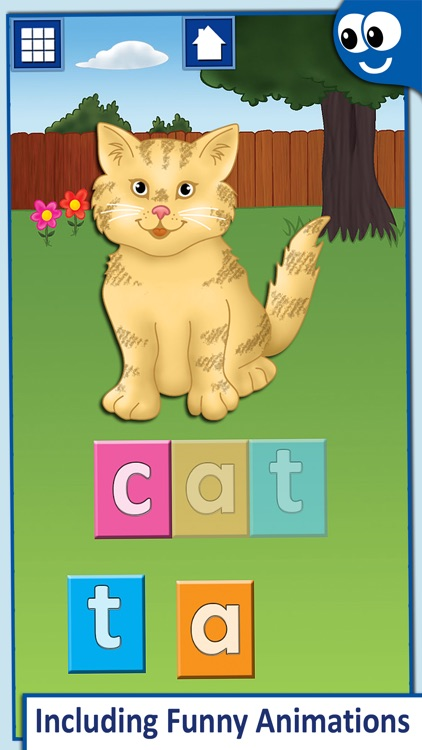 First Words for Kids and Toddlers Free: Preschool learning reading through letter recognition and spelling screenshot-3