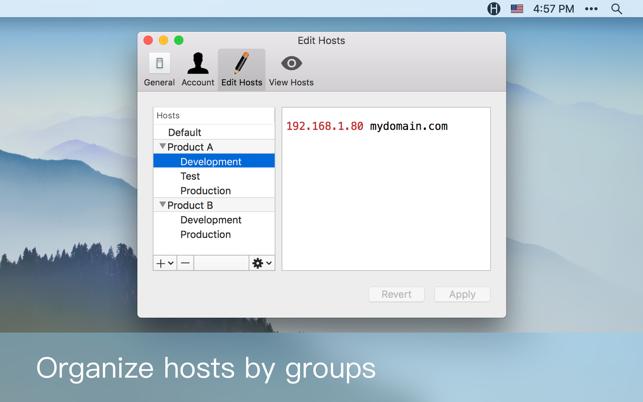 host editor ios