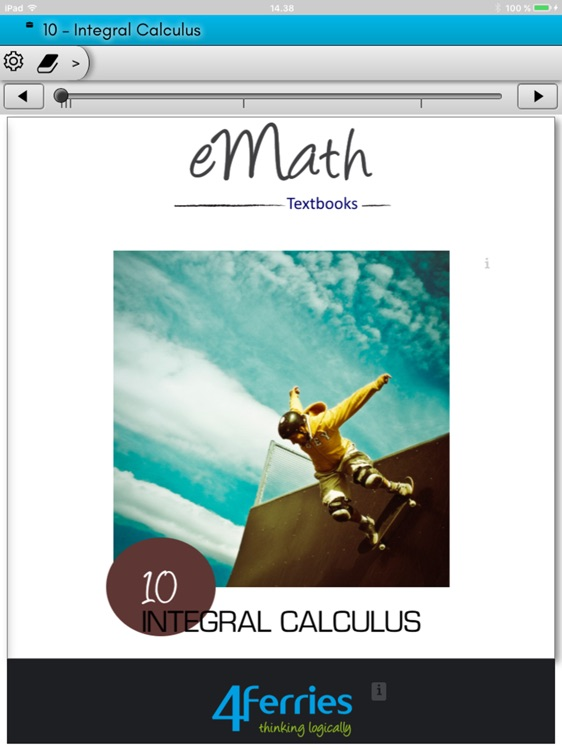 eMath10: Integral calculus