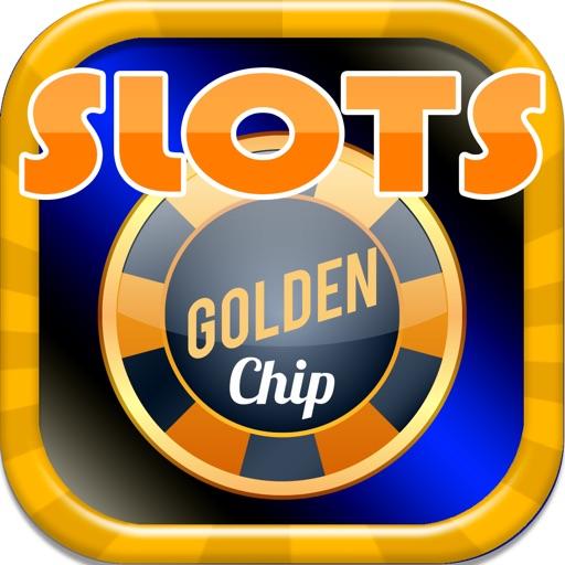 SLOTS Golden Chip - FREE Slot Machine Game