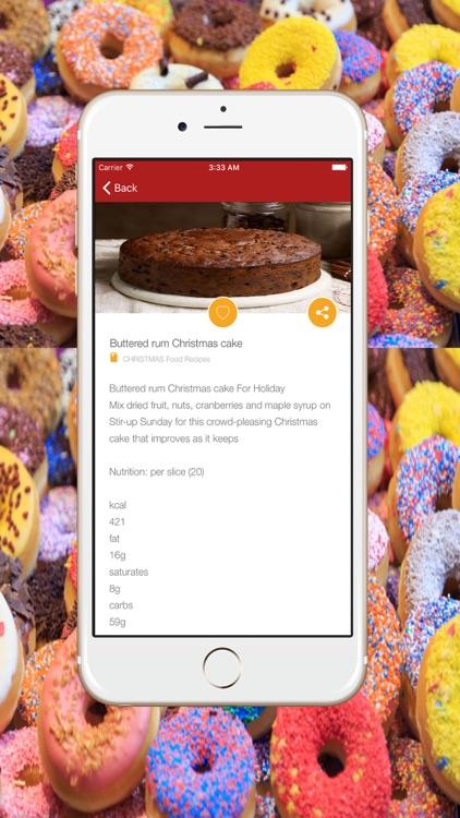 Healthy Food Recipes & Home Recipe For Christmas screenshot-3