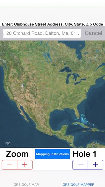 GPS Golf Map screenshot-4