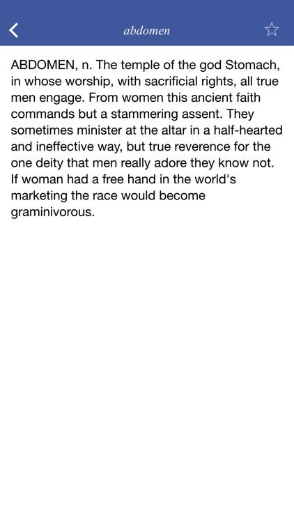 The Devil's Dictionary - a satirical dictionary screenshot-3
