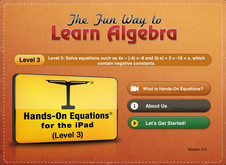 Hands-On Equations 3
