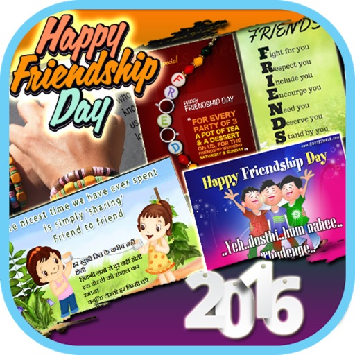 Happy Friendship Day 2016 - Cards, Wishes & Greetings icon