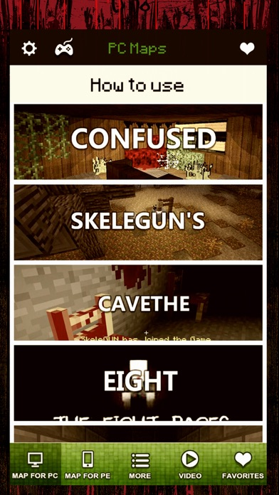 Horror Maps - Download The Scariest Map for MineCraft PE