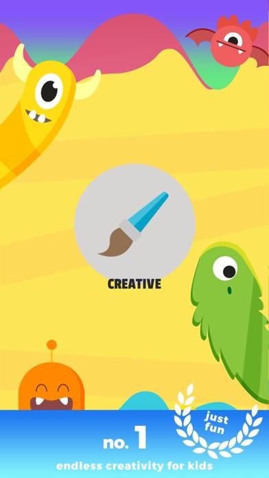 Kids Monster Creator - make funny monster images
