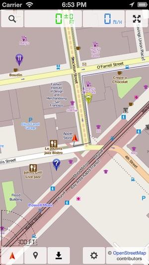 Yhteydeton Kartta Gps Navigaattori Ilmaiseksi App Storessa