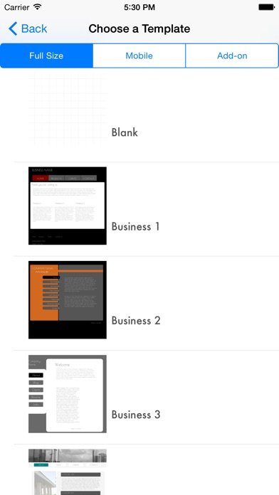 Screenshot #2 pour HTML Egg - Web Page Creator