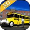 Town School Bus 3D