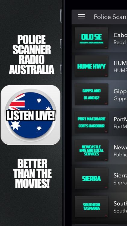 Police Scanner Radio Australia by Big Screen Entertainment Pty Ltd
