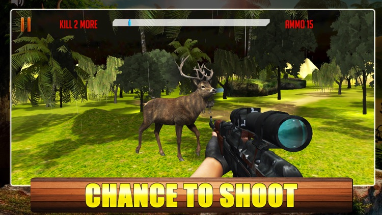 Big Deer Hunting Game : Sniper Forest Hunt Pro