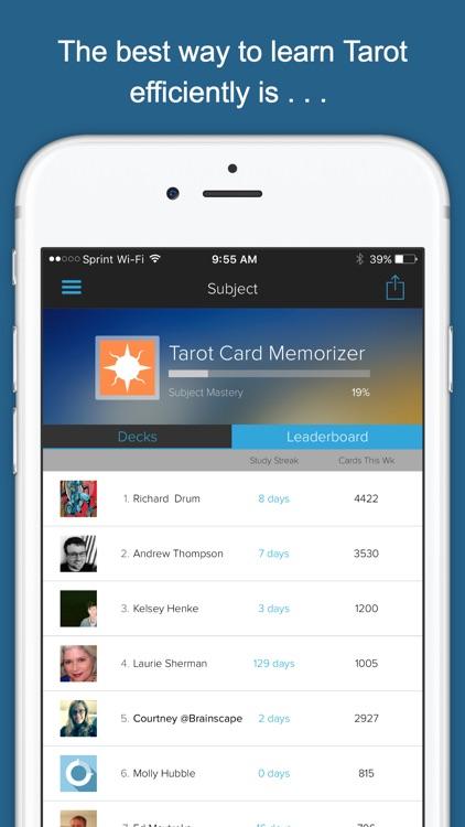 Tarot Card Memorizer screenshot-3