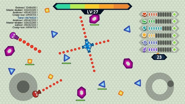 Tank.io War - Multiplayer Mobile Online Games screenshot-4