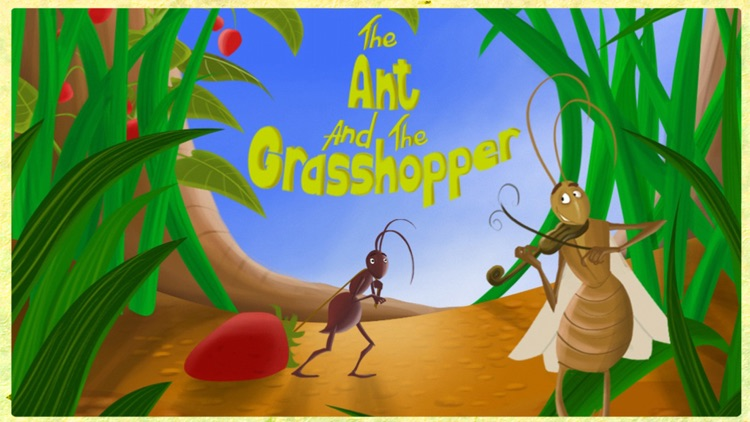 The Ant and the Grasshopper - A Free Interactive Children's Storybook for Kids & Parents