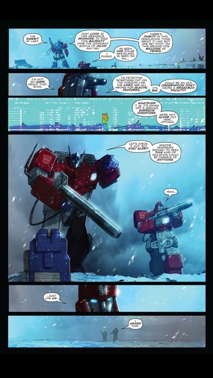 Transformers Comics screenshot-4