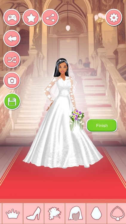 Bride Dress Up Game - Wedding Makeover Salon screenshot-3