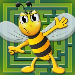 Labyrinth Race: Bees and Friends - Jump, Run, Fly and Survive - Try not to Get Eaten!