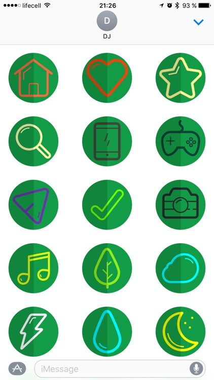 Icon Pack Stickers