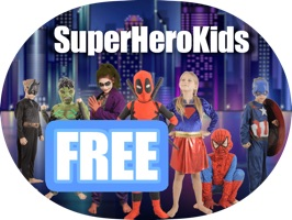 SuperHeroKids - Stickers Free