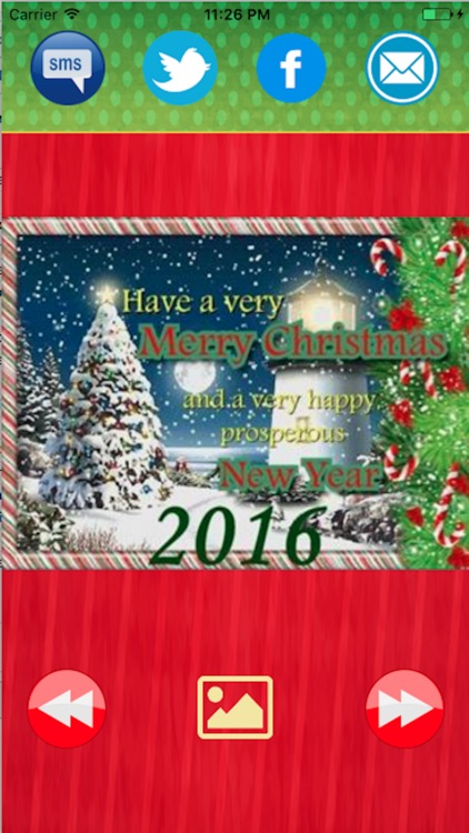 Greetings cards-Merry Christmas and New Year 2017