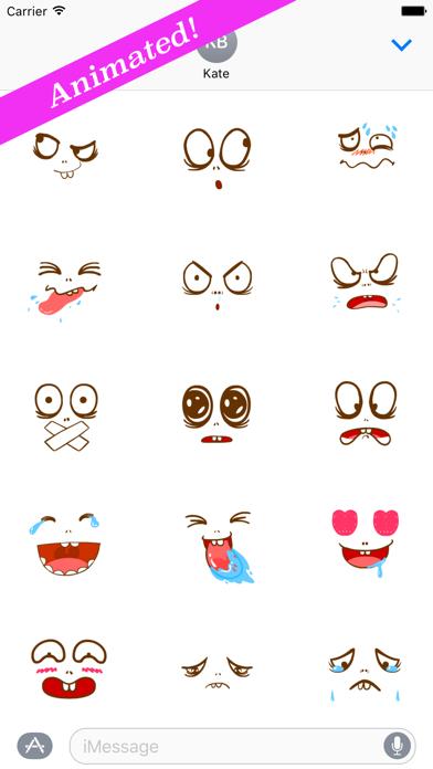 Facys: Comic Stickers Effects screenshot two