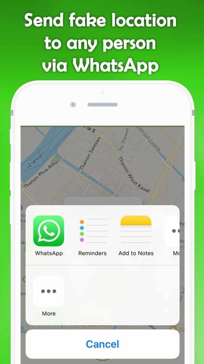 Prank For WhatsApp - Send Fake Location via WhatsApp