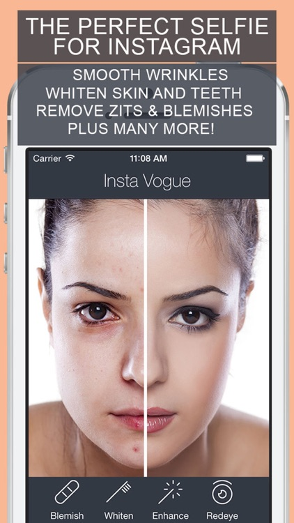 Retouch Vogue - Wrinkles Plus Face Makeup Editor