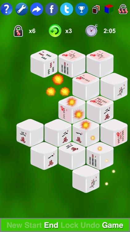Mahjong 3D Solitaire Mini SZY screenshot-3
