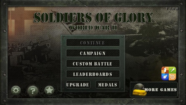 Soldiers of Glory: World War II TD on the App Store