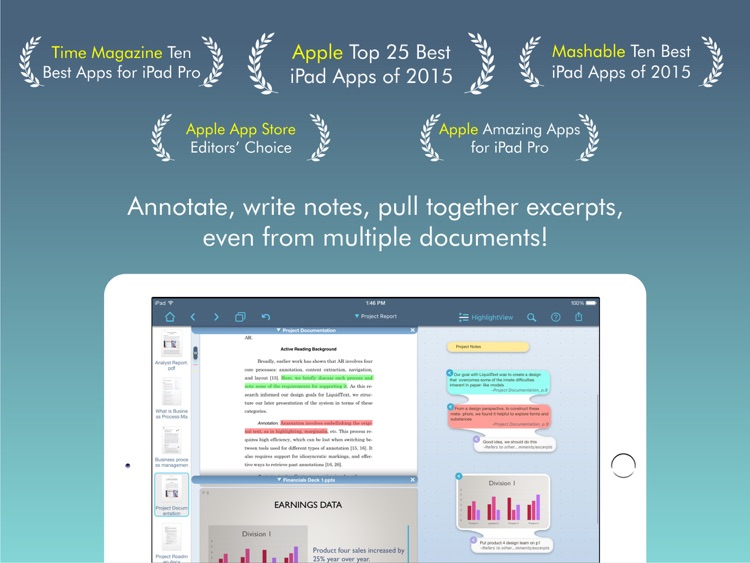 LiquidText PDF Reader
