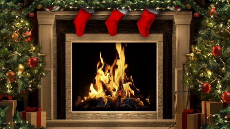 Amazing Christmas Fireplaces