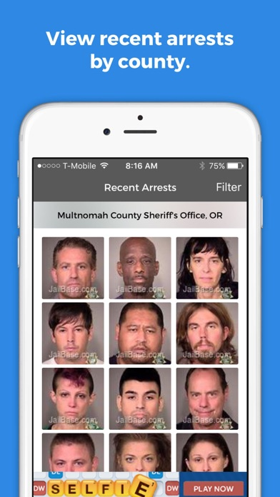 JailBase Arrests and Mugshots for Windows