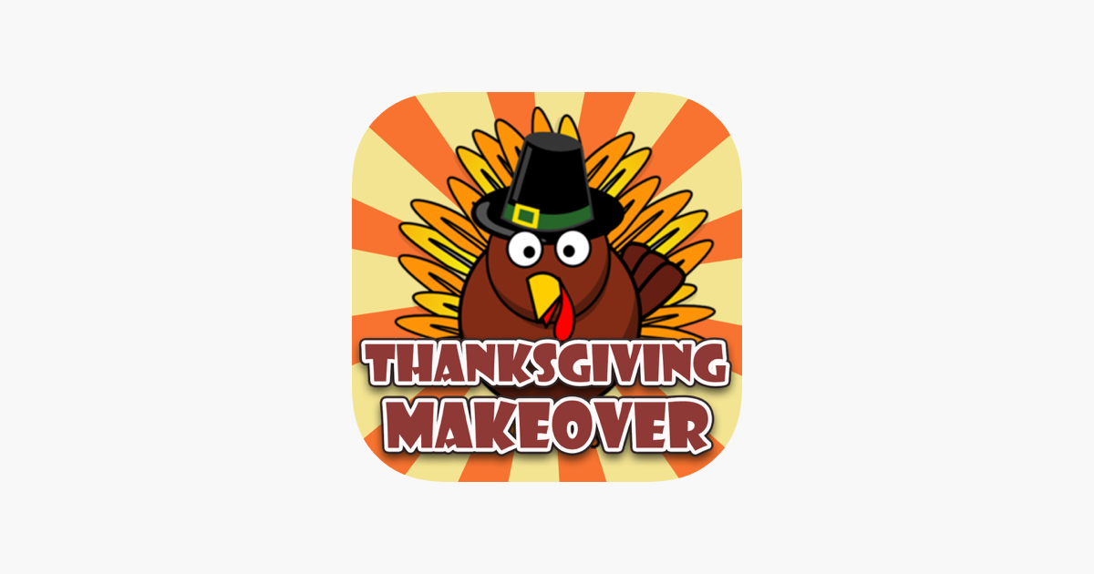 thanksgiving day makeover visage photo editor to swirl holiday stickers on yr face im app store