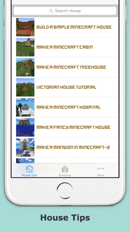 House ideas guide for minecraft - Step by step build your