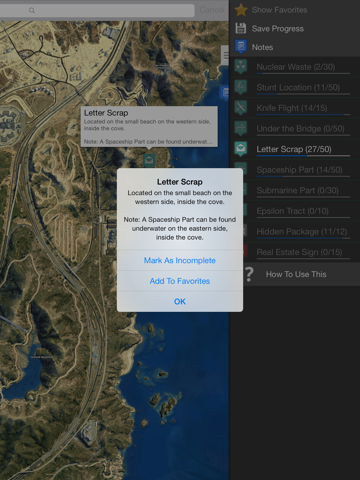 Interactive Map for GTA 5 - Unofficial-ipad-4