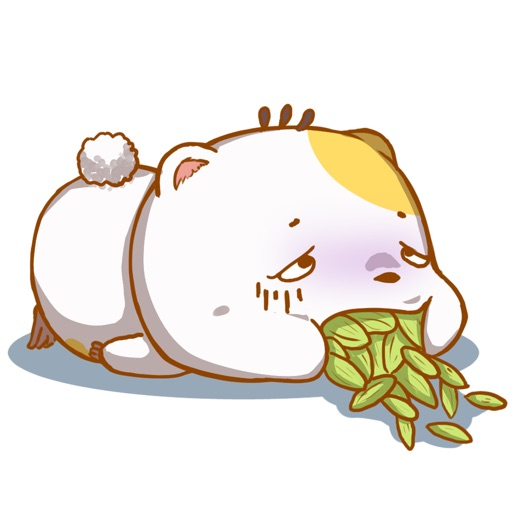 Cute Hamster Stickers for iMessage by AMSTICKERS
