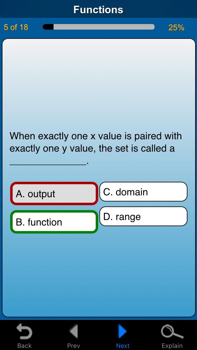 meStudying: Algebra 1 - AppRecs