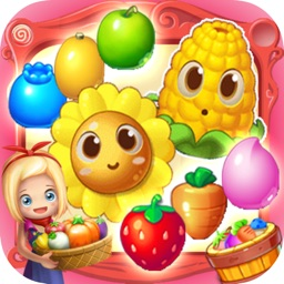 Crazy Garden Mania - Angry Fruit Match 3